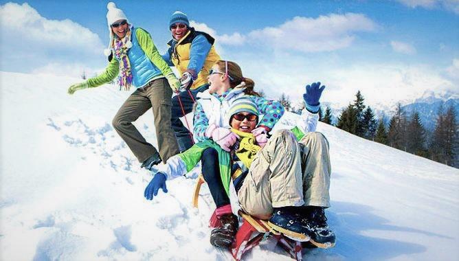Санки, лыжи, Пилипець.<br> Зима 2018.<br>