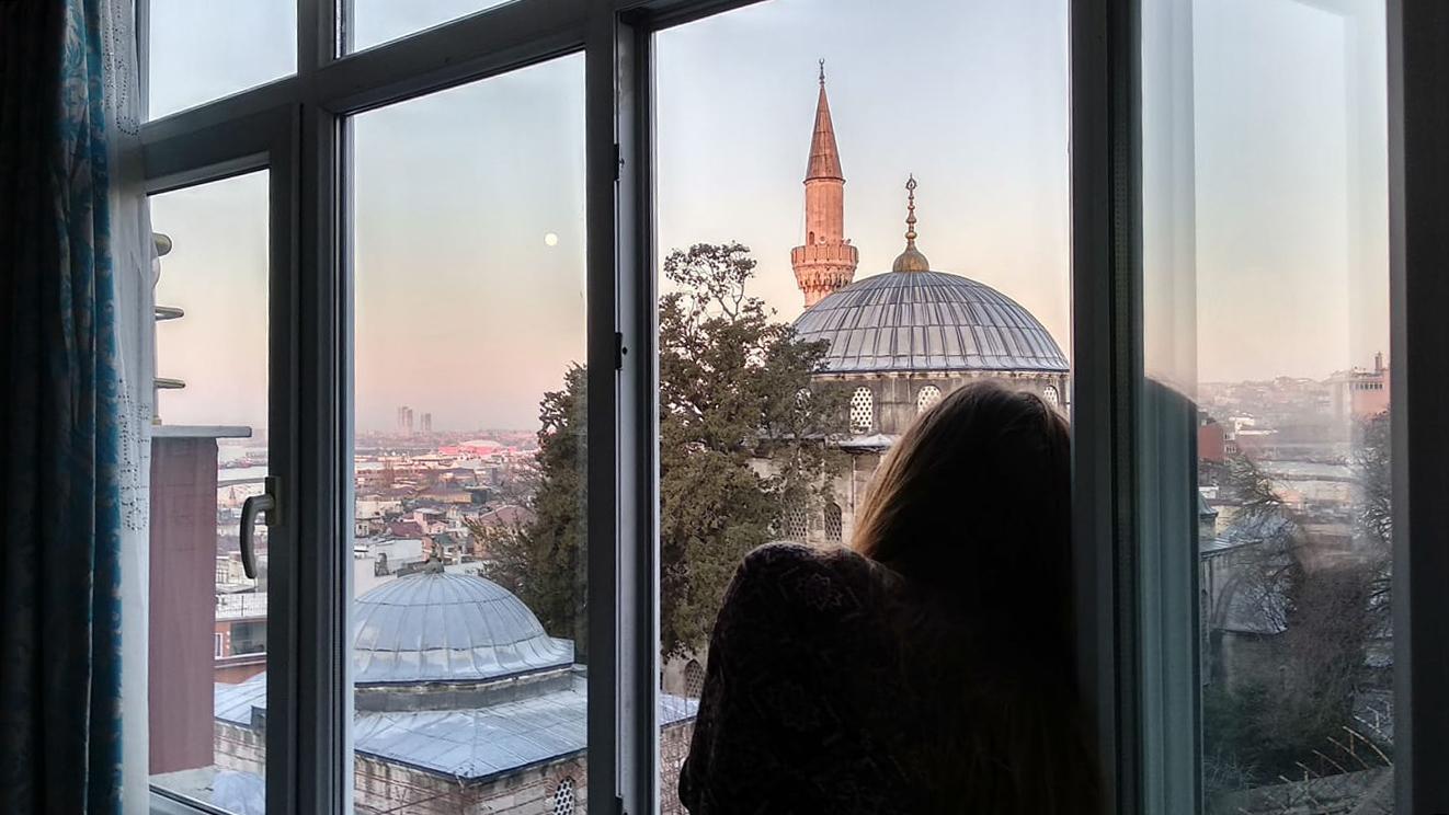 Стамбул.<br> Дыхание весны и вечности.<br>