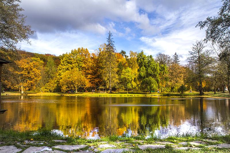 Разноцветный уик-енд.<br> Октябрь на Закарпатье.<br>